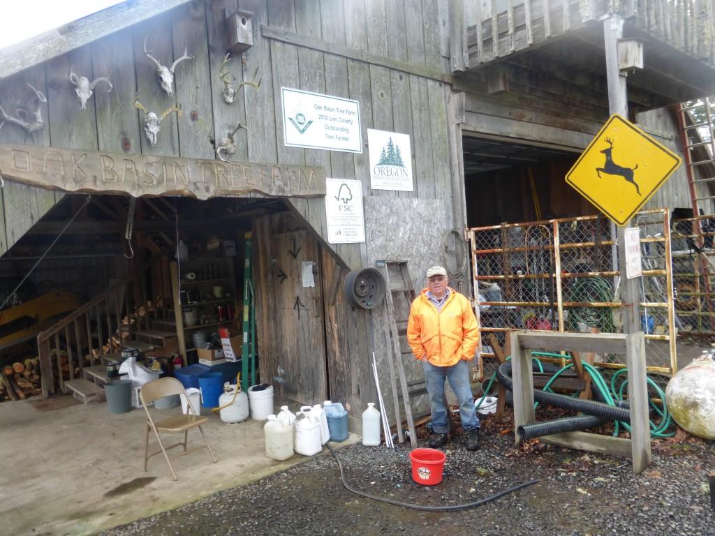 Oak Basin Tree Farm has earned recognition for excellent stewardship.